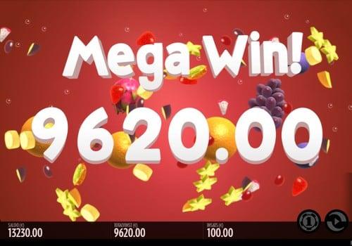 Крупный выигрыш в автомате Fruit Warp
