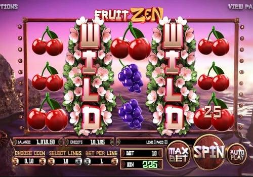 Крупный выигрыш в автомате Fruit Zen