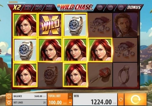 Игровые аппараты с мгновенным выводом денег на карту Wild Chase