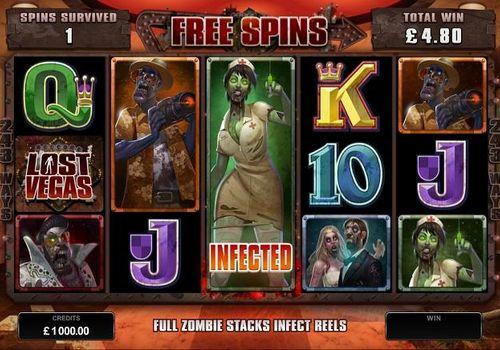 Фриспины игрового автомата Lost Vegas