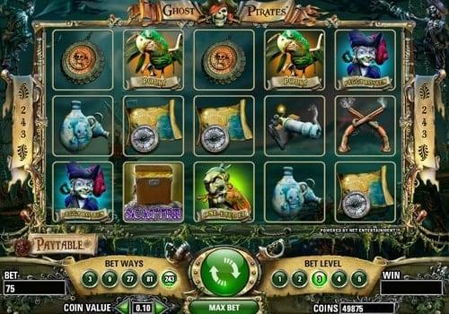 Игровые автоматы с моментальным выводом на карту Ghost Pirates