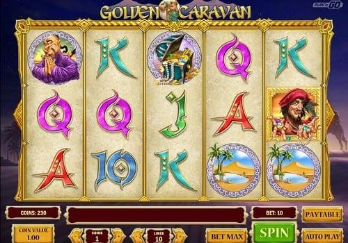 Игровые автоматы на реальные деньги с выводом на карту — Golden Caravan