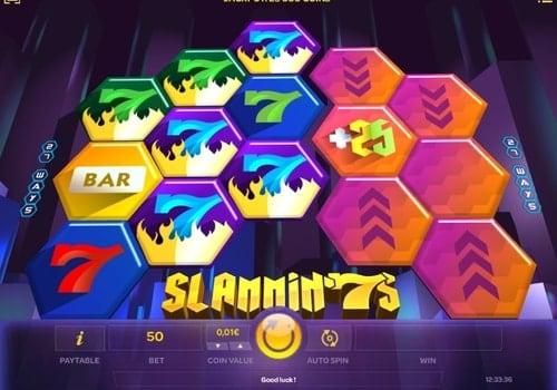 Игровые автоматы на реальные деньги с выводом на карту - Slammin'7s