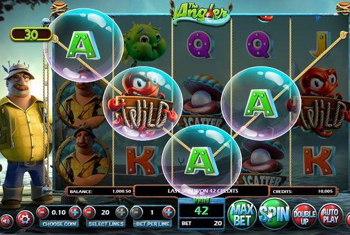 Игровые автоматы на реальные деньги с выводом на карту — The Angler