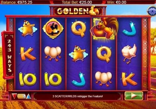 Игровые автоматы с моментальным выводом денег на карту - Golden Hen