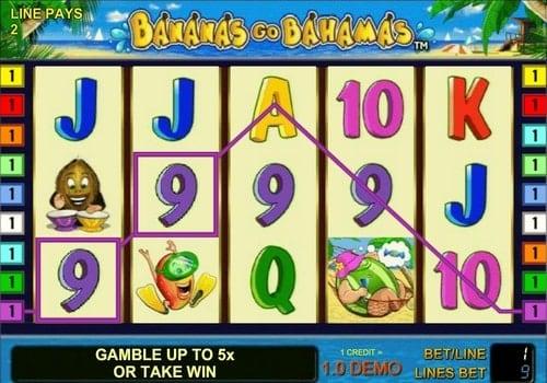 Игровые автоматы с выводом денег на карту - Bananas go Bahamas