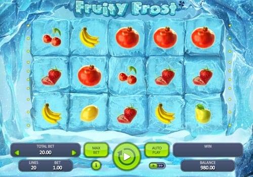 Игровые автоматы с выводом денег на карту — Fruity Frost