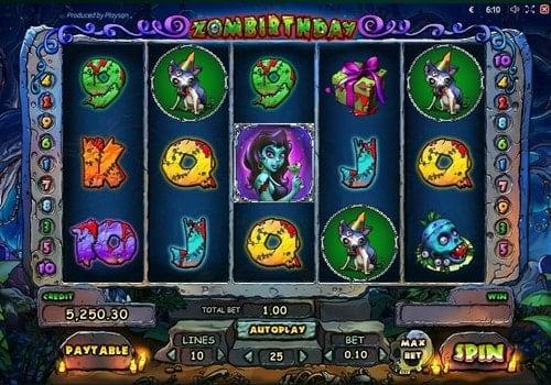 Игровые автоматы с выводом денег на карту - Zombirthday