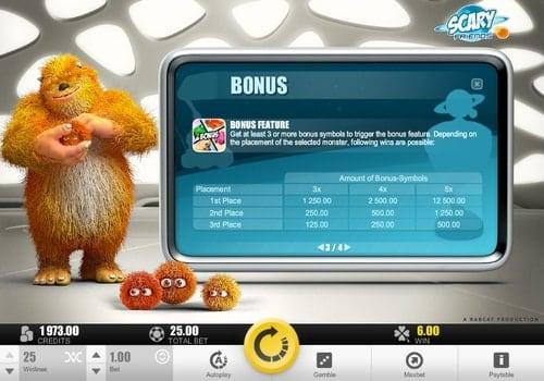 Правила бонусной игры в онлайн слоте Scary Friends