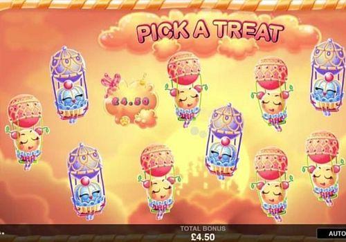 Бонусная игра в онлайн слоте Sugar Parade