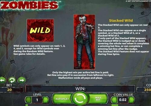 Wild в онлайн слоте Zombies